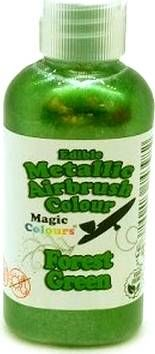 Airbrush barva perleťová Magic Colours (55 ml) Forest Green