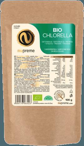 Nupreme BIO Chlorella prášek 100g