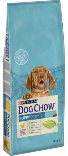 PURINA  dog chow    PUPPY  kuřecí  - 14kg