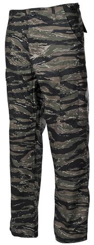 Bojové kalhoty US BDU - tiger-stripe, XXL