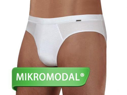 Slipy z Micro Modalu DOREANSE Premium 1011 Bílá Barva: Bílá, Velikost: S