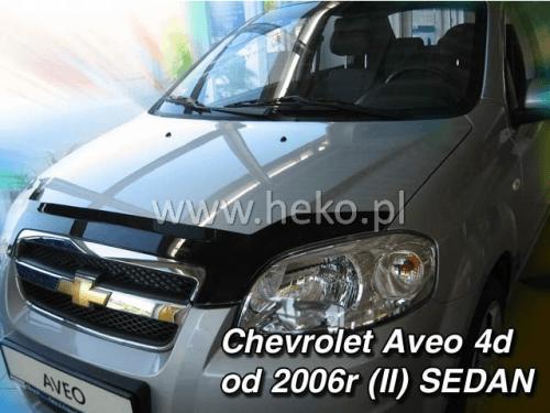 Deflektor kapoty Chevrolet Aveo 2006-2011 (sedan)