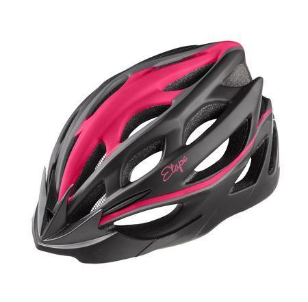 Dámská cyklistická helma Etape VESPER černo-růžová matná S/M (55-58 cm)