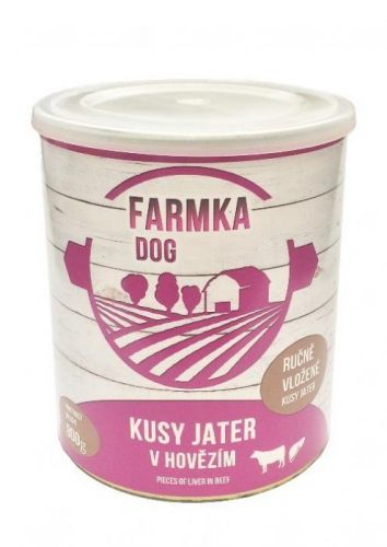FALCO FARMKA DOG s játry 8x800 g