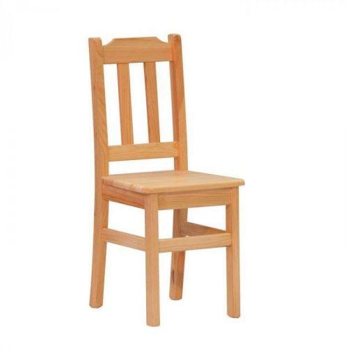 Jídelní dřevěná židle Stima PINO I – masiv borovice, lak