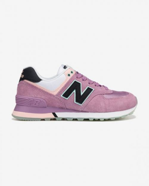 New Balance 574 Tenisky Růžová Fialová