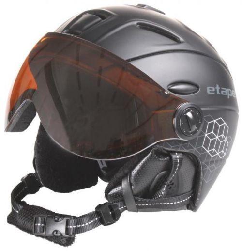 Comp PRO lyžařská helma barva: černá-karbon;obvod: 55-58