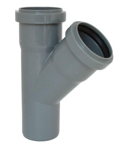 Odbočka HTEA pro připojení boční kanalizační větve DN 100/100, úhel 87,5°