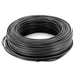 Vodič instalační drát tvrdý (CY) H07V-U 4 černá