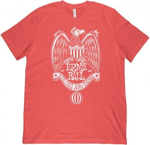 Ernie Ball 1962 Strings & Things Red T-Shirt L