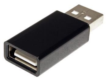 Roline Adaptér USB A(M) - USB A(F), bez dat - data blocker