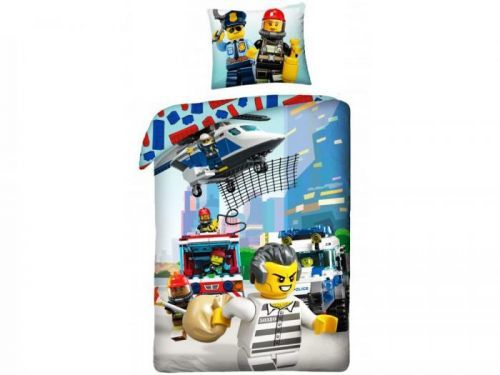 Halantex Povlečení Lego LEG821 140x200/70x90 cm