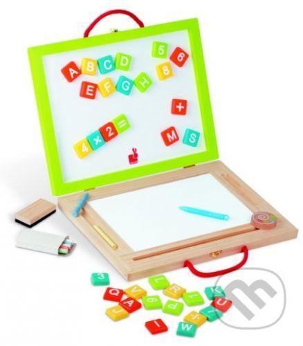 4 tabuľky v čarovnom kufríku - Janod