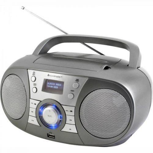 Soundmaster SCD8000TI šedý