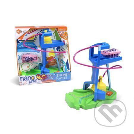 Hexbug Nano Junior - Zipline, hrací set - LEGO