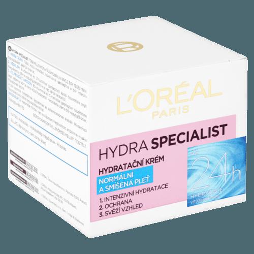 L'Oréal Paris Hydra Specialist denní hydratační krém pro normální až smíšenou pleť 50 ml