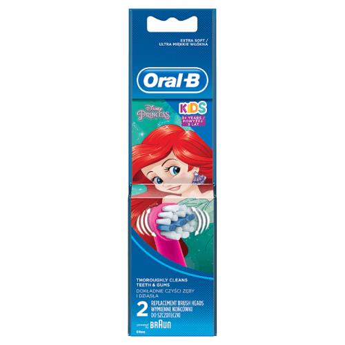 Oral B Stages Power EB10 Mickey Mouse náhradní hlavice pro zubní kartáček extra soft 2 ks