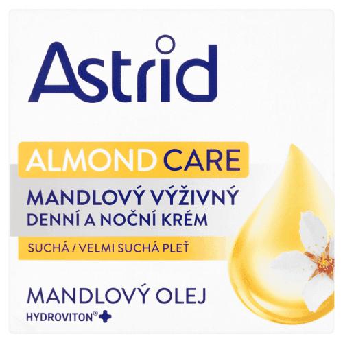 Astrid Nutri Skin mandlový výživný denní a noční krém pro suchou až velmi suchou pleť 50 ml