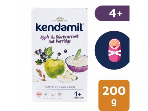 Kendal Nutricare KENDAMIL Jemná dětská kaše s jablkem a černým rybízem (200g)