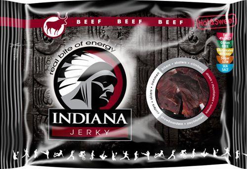 Indiana Jerky Hovězí Hot&Sweet 100g