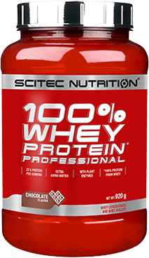 SCITEC Nutrition 100 % Whey Protein Professional med - vanilka - 920g