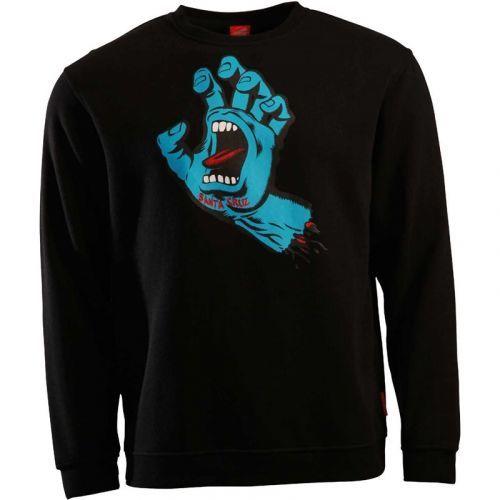 mikina SANTA CRUZ - Screaming Hand Black (BLACK) velikost: XL