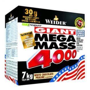 Weider Giant Mega Mass 4000 Gainer čokoláda 7000g