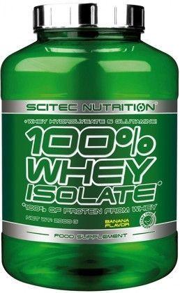SCITEC Nutrition 100 % Whey Isolate jahoda 2000g