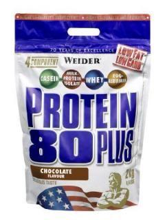 Weider Protein 80 Plus čokoláda 2000g