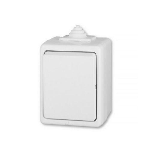 Praktik Spínač jednopólový IP 44, bílá (3553-01929 B)