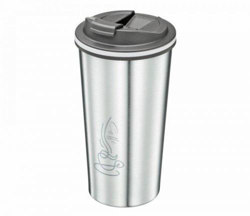 Cestovní termohrnek CELESTE 355 ml, Ciliio - stříbrná