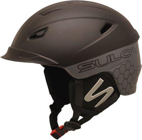 Lyžařská helma Sulov DIAVOL velikost M, černá