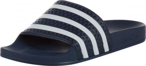 ADIDAS ORIGINALS Pantofle 'Adilette' námořnická modř / bílá