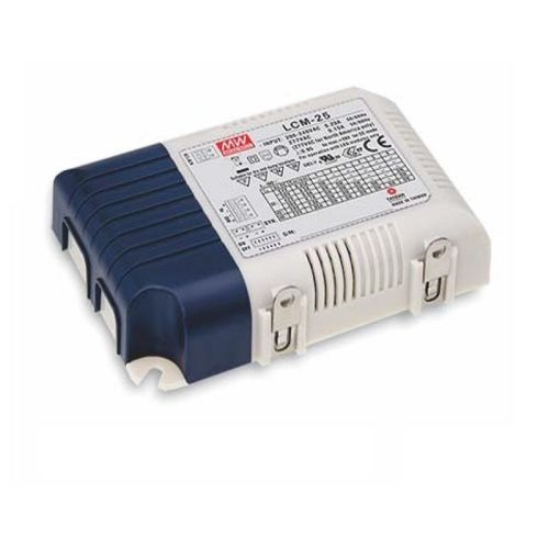 1-10V stmívatelný proudový zdroj MEAN WELL LCM-25 6-kanálů 25W