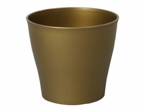 Obal CASABLANCA MATT d16cm/zlatá/matný