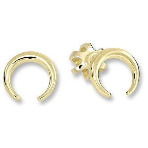 Brilio Drobné minimalistické náušnice ze žlutého zlata 231 001 00642