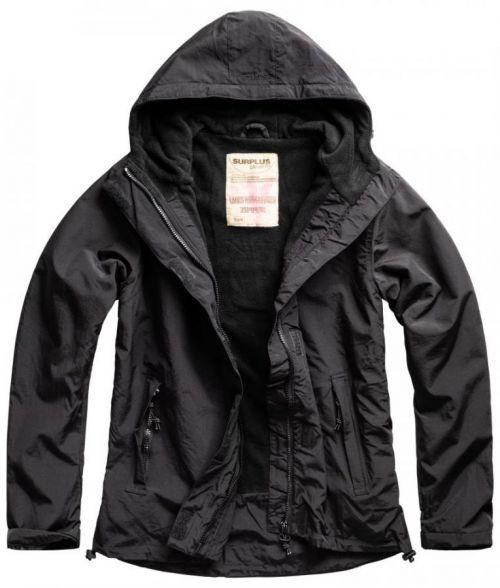 Bunda Ladies Windbreaker Zipper - černá, XL