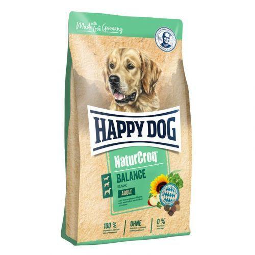 Granule HAPPY DOG NATUR-Croq Lamm&Rice 15 kg, Dospělý pes