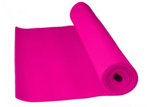 II. jakost POWER SYSTEM-FITNESS YOGA MAT-PINK