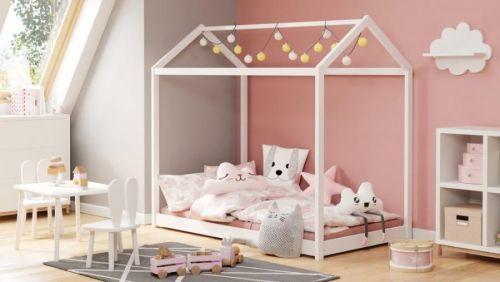 Halmar Dětská postel YOGI 80x160 cm - bílá