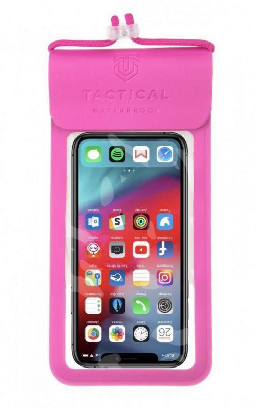 Vodotěsné univerzální pouzdro Tactical Splash Pouch S/M Pink, růžová