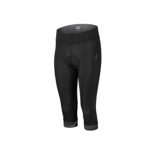3/4 kalhoty Etape Livia - dámské, elastické, pas, černá - velikost 2XL